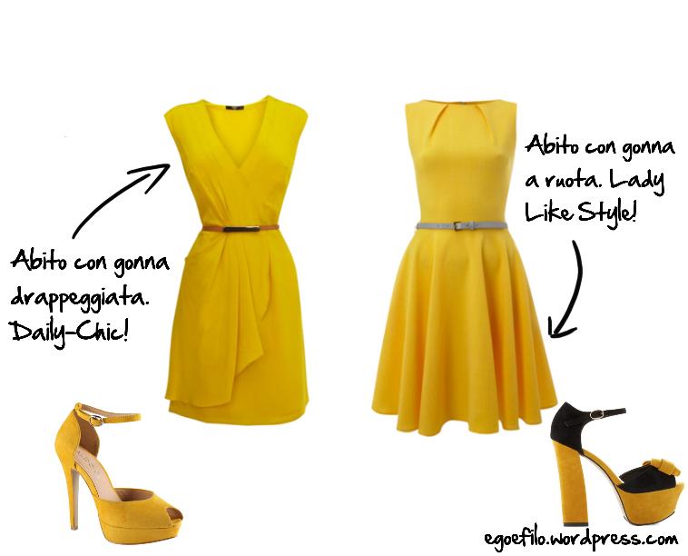1f9e8a66796da come abbinare un vestito giallo